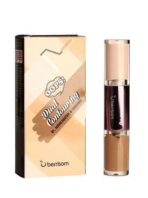 Berrison OOPS Dual Хайлайтер и контуринг для лица OOPS Dual Contouring 01. Highlighter & Shading 3,5